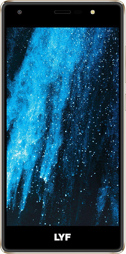 LYF Water F1S (Gold, 32 GB)(3 GB RAM)