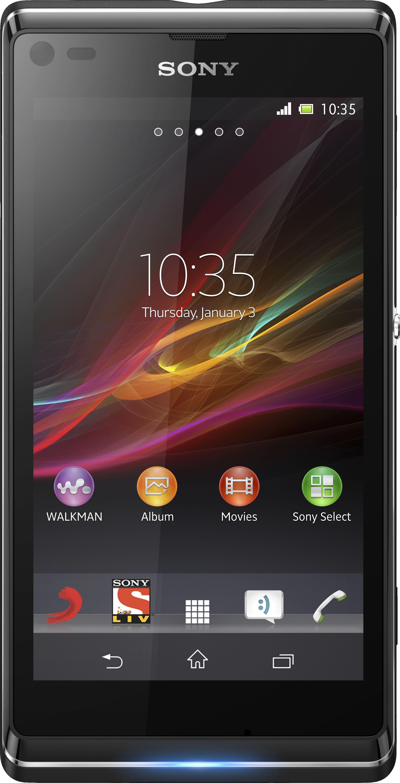 Sony Xperia L (Starry Black, 8 GB)(1 GB RAM)