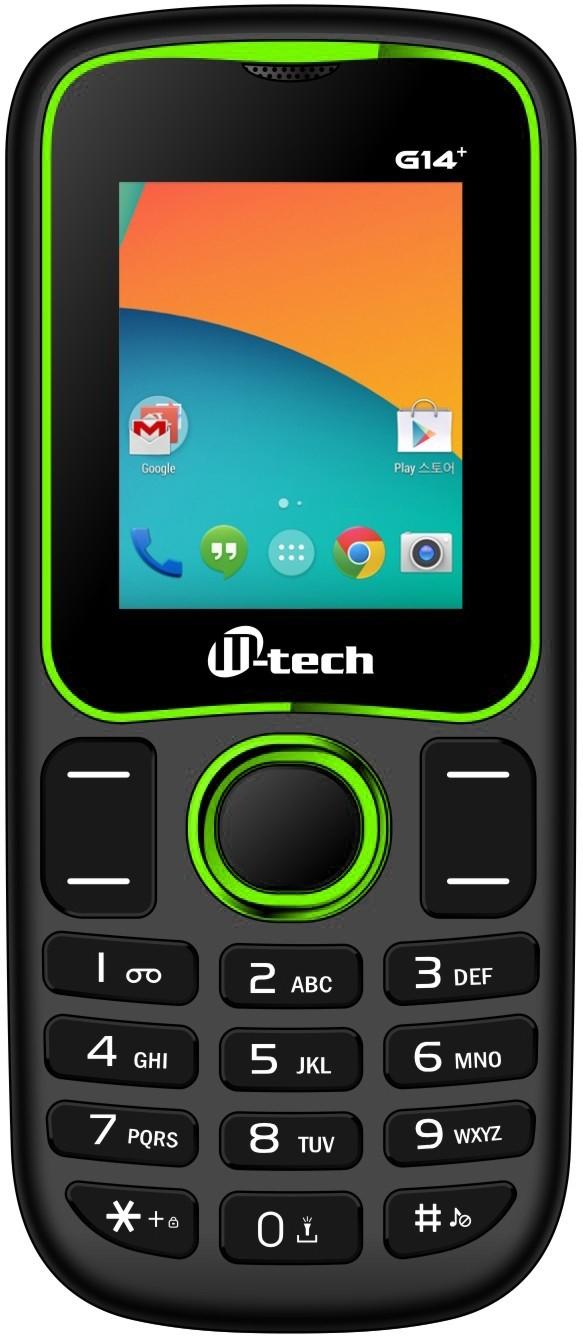 M-tech G14 Plus Black+Green(Black+Green)