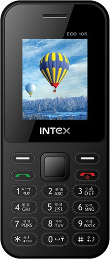 Intex Intex Eco 105 Mobile(Grey)