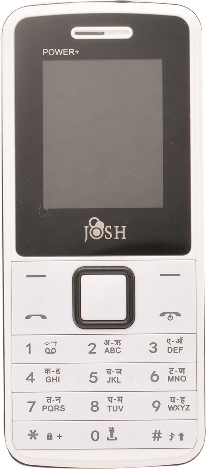 Josh Power+(White)