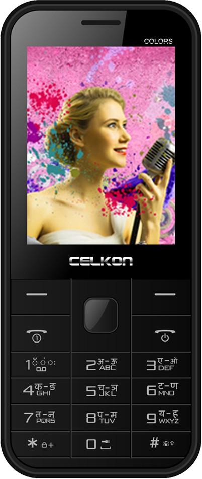 Celkon Charm Colours(Black)