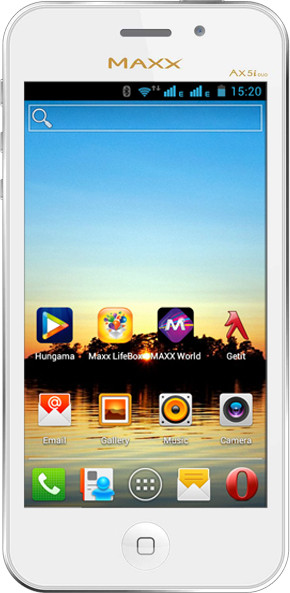 MAXX MSD7 Smarty Ax 5i Duo (White, 4 GB)(512 MB RAM)