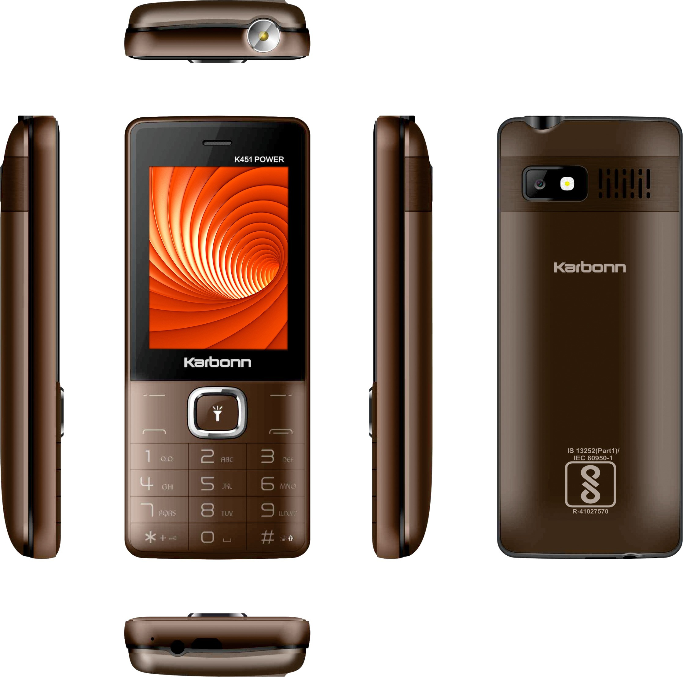 Karbonn K451 Power(Coffee Black)