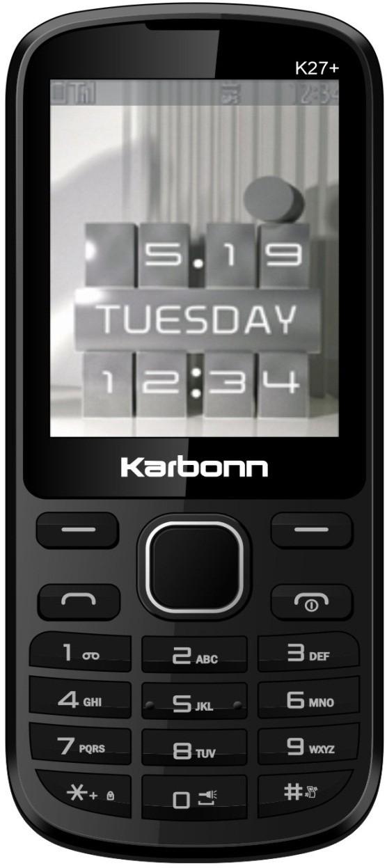 Karbonn K27 Plus(Black)