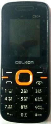 Celkon C604(Black Orange)