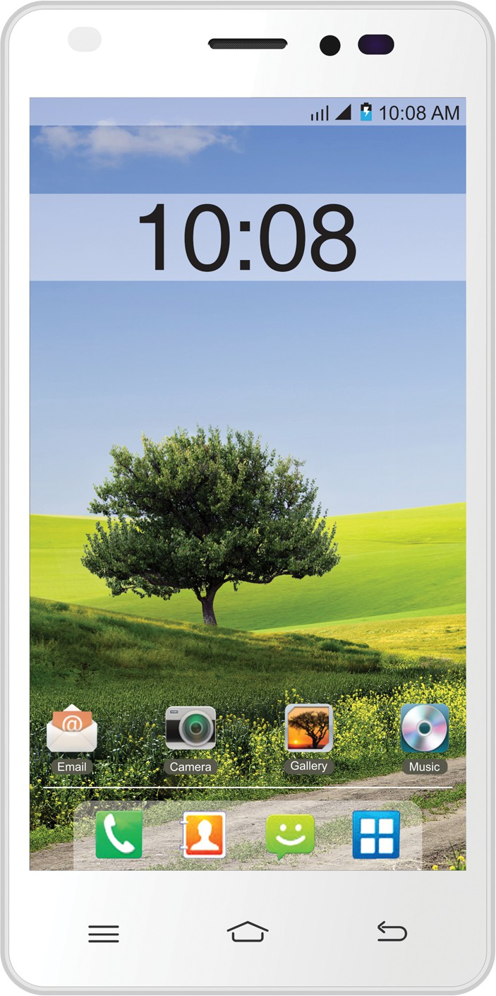 Intex Cloud M5-II (White and Orange, 8 GB)(1 GB RAM)