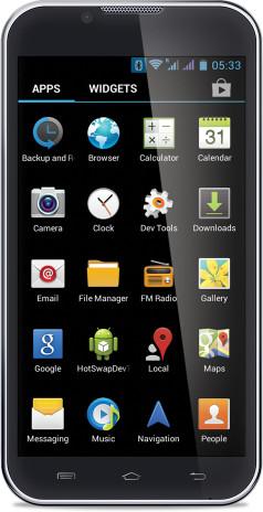 iBall Andi 5E7 (512MB RAM, 4GB)