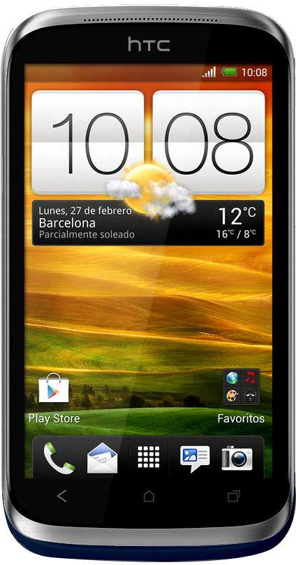 HTC Desire X Dual Sim (Black, 4 GB)(768 MB RAM)