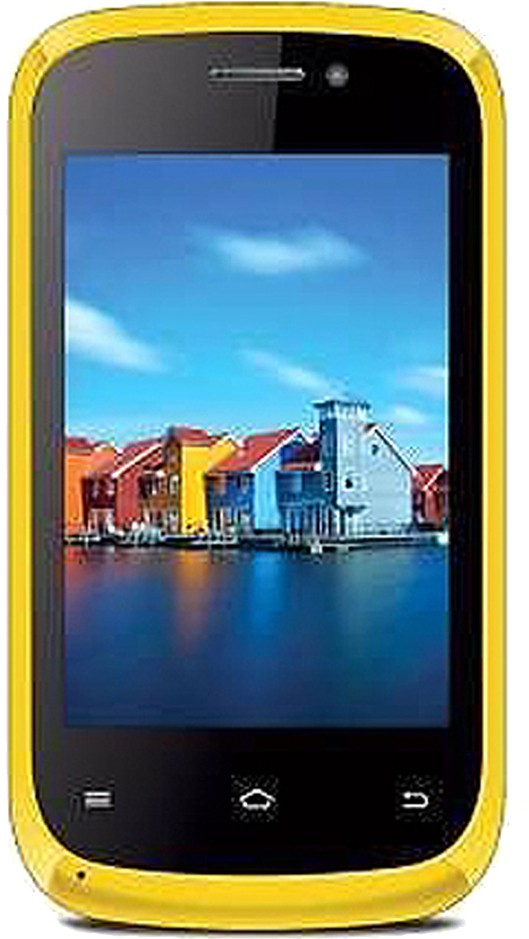 iBall Andi 3.5Kke Winner (Yellow, 2 GB)(256 MB RAM)