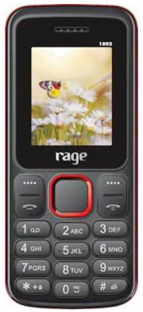 RAGE Bold(Black, Red)