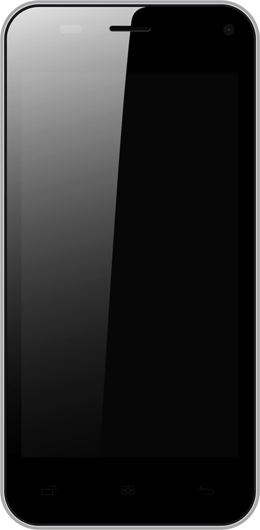 Onida i455 (Light Gray, 8 GB)(1 GB RAM)