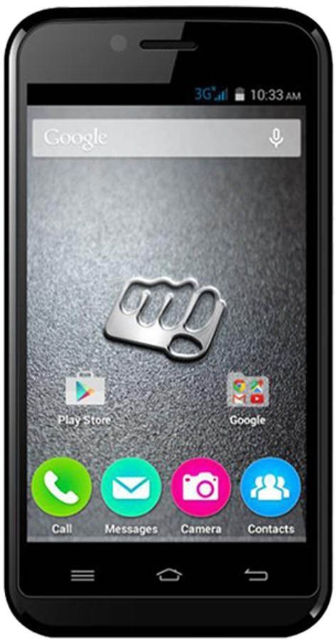 Micromax Bolt Joy (Black, 4 GB)(512 MB RAM)