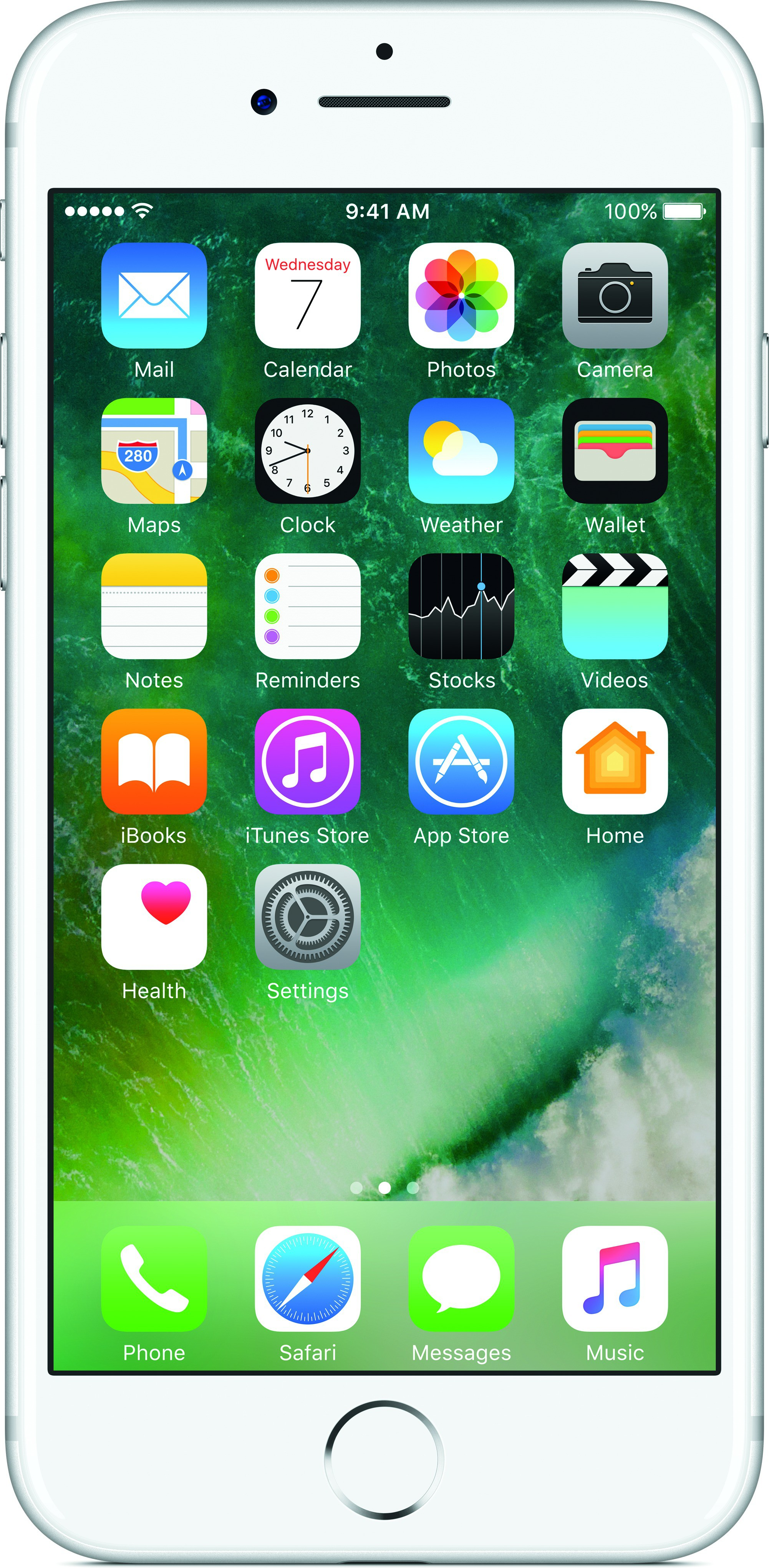 Apple iPhone 7 (Silver, 256 GB)