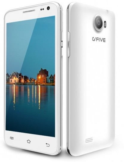 Gfive President G6C 4GB Rom 3G Smartphone (White, 4 GB)(1 GB RAM)