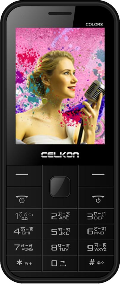Celkon Charm Colours(Black & White)