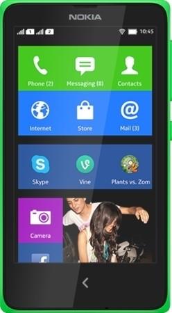 Nokia X Plus (768MB RAM, 4GB)