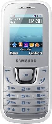 SAMSUNG E1282 Guru Music Dual Sim - White(White)
