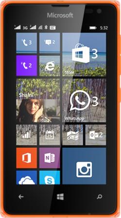 Microsoft Lumia 532 (BrightOrange, 8 GB)(1 GB RAM)