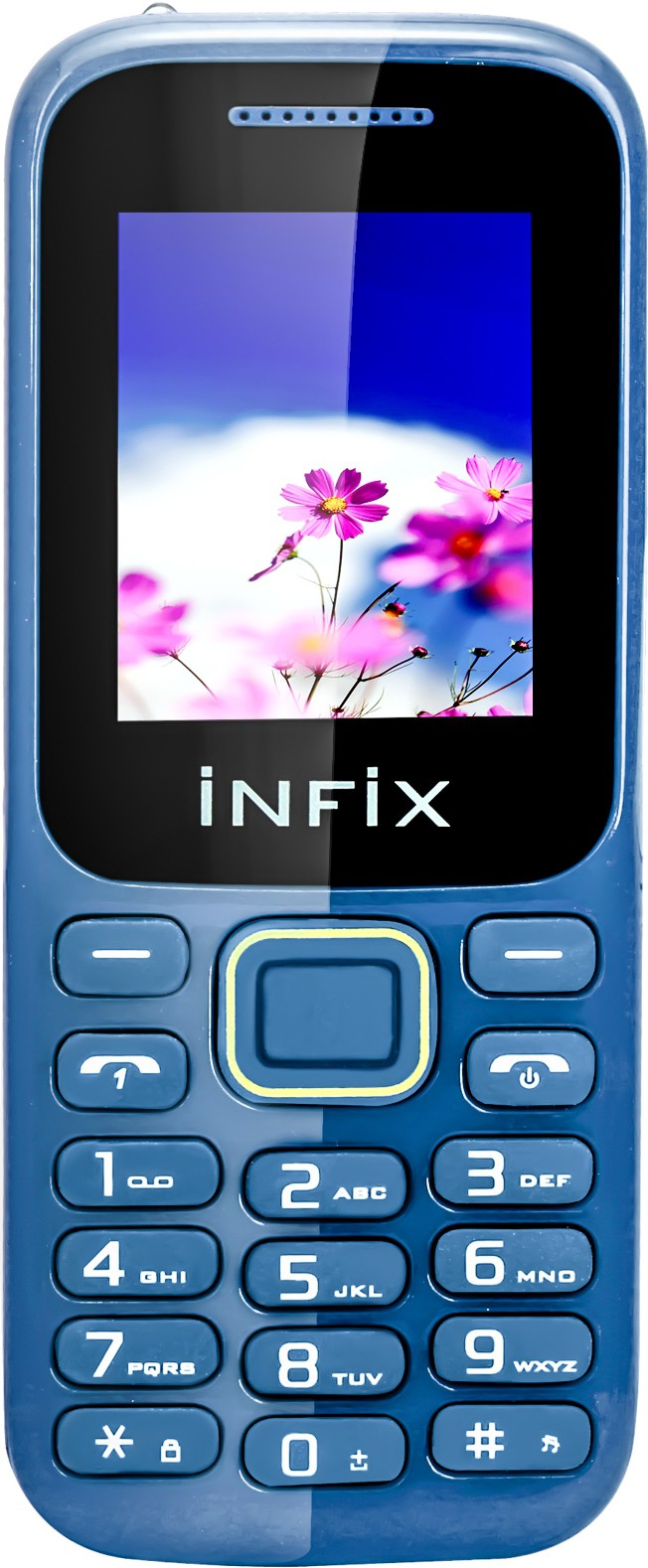 Infix Nexam N1 Ultra Dual Sim Multimedia With Auto Call Record(Blue)