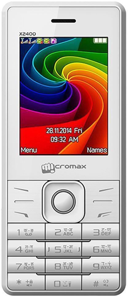 Intex Ultra 2400(White Blue)