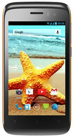 Karbonn Titanium S1 Plus (Orange, 4 GB)(1 GB RAM)