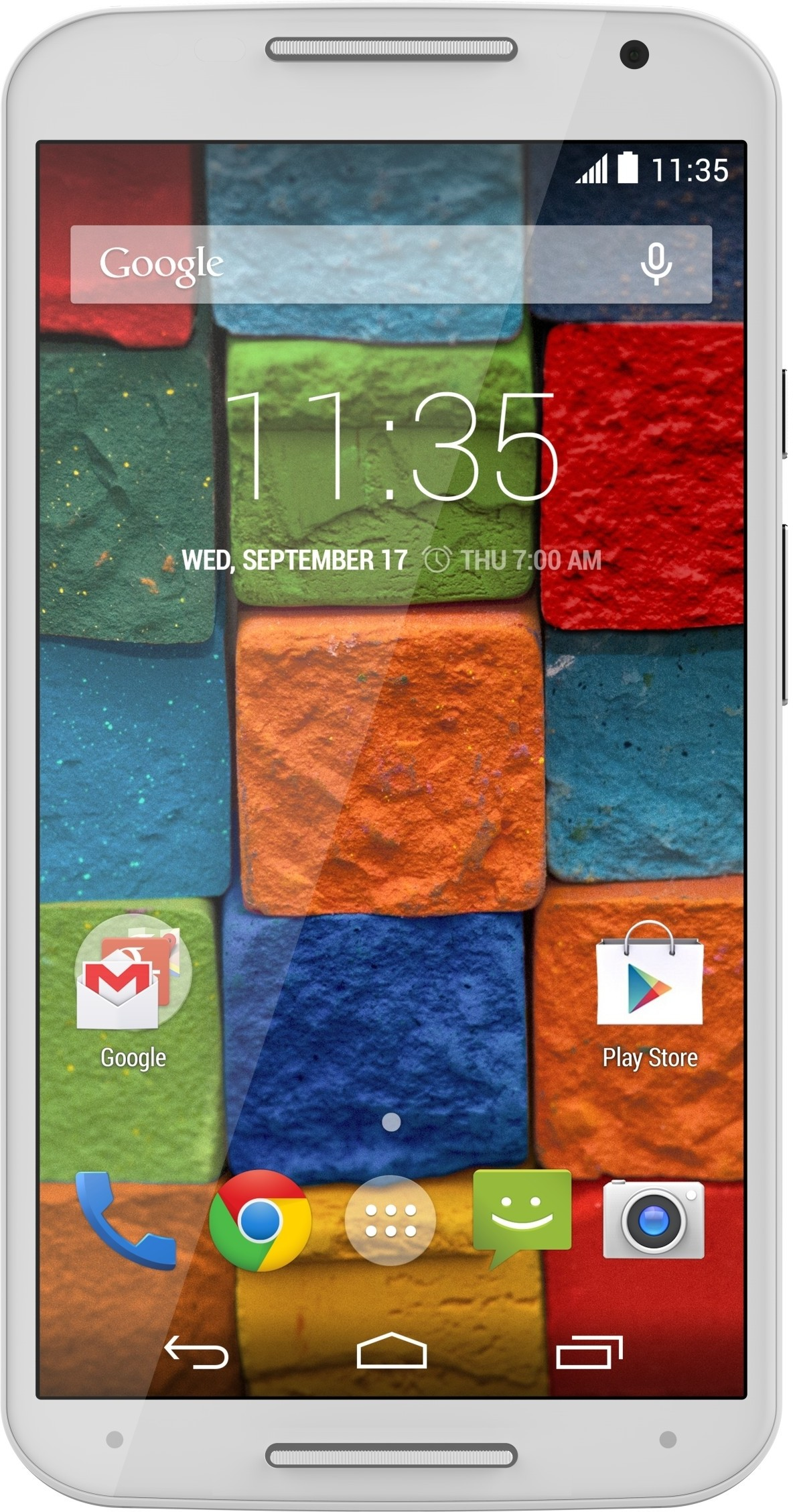 Moto X (2nd Generation) (White/Bamboo, 16 GB)(2 GB RAM)