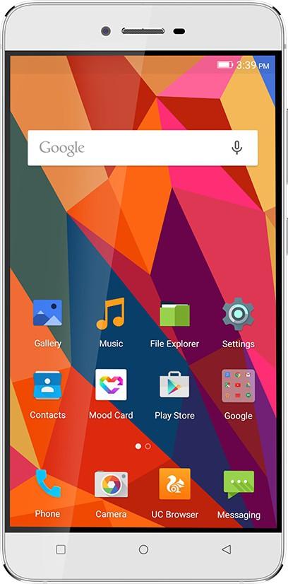 Gionee S6 (Silver, 32 GB)(3 GB RAM) image