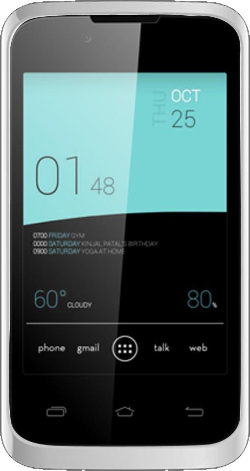 Karbonn A8 Plus Dual Sim - White (White, 512 MB)(256 MB RAM)