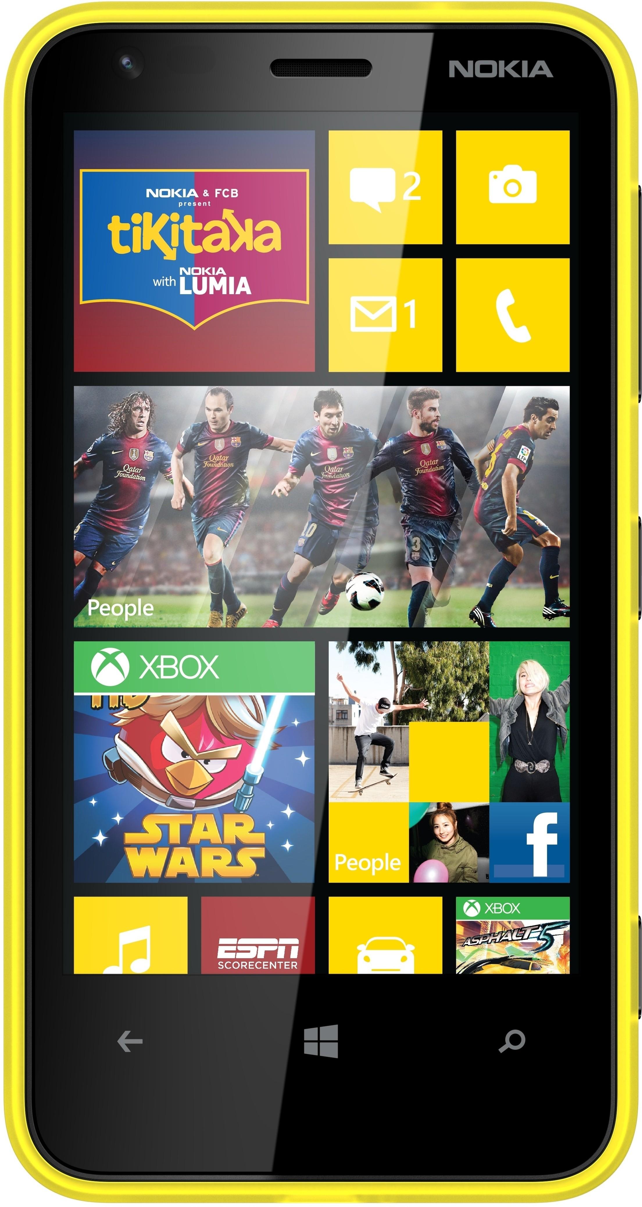 Nokia Lumia 620 (512MB RAM, 8GB)