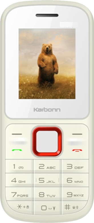 Karbonn K110i(White and Red)