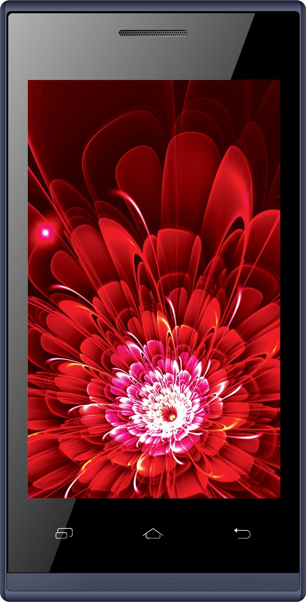 Intex Aqua Viturbo (Blue, 4 GB)(512 MB RAM)