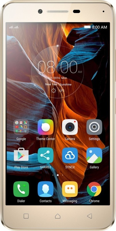 Lenovo Vibe K5 Plus 3 GB (Gold, 16 GB)(3 GB...