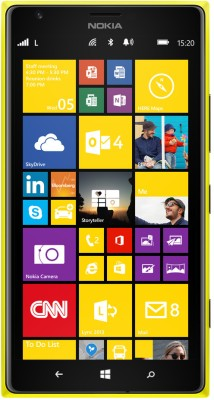 Nokia Lumia 1520 (Yellow, 32 GB)