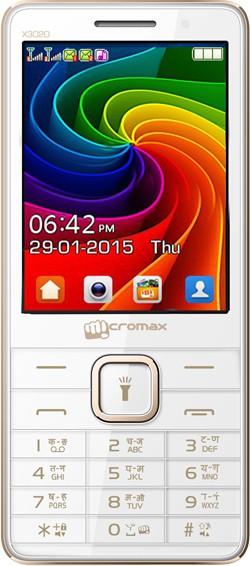Micromax X3020(White & Champagne)