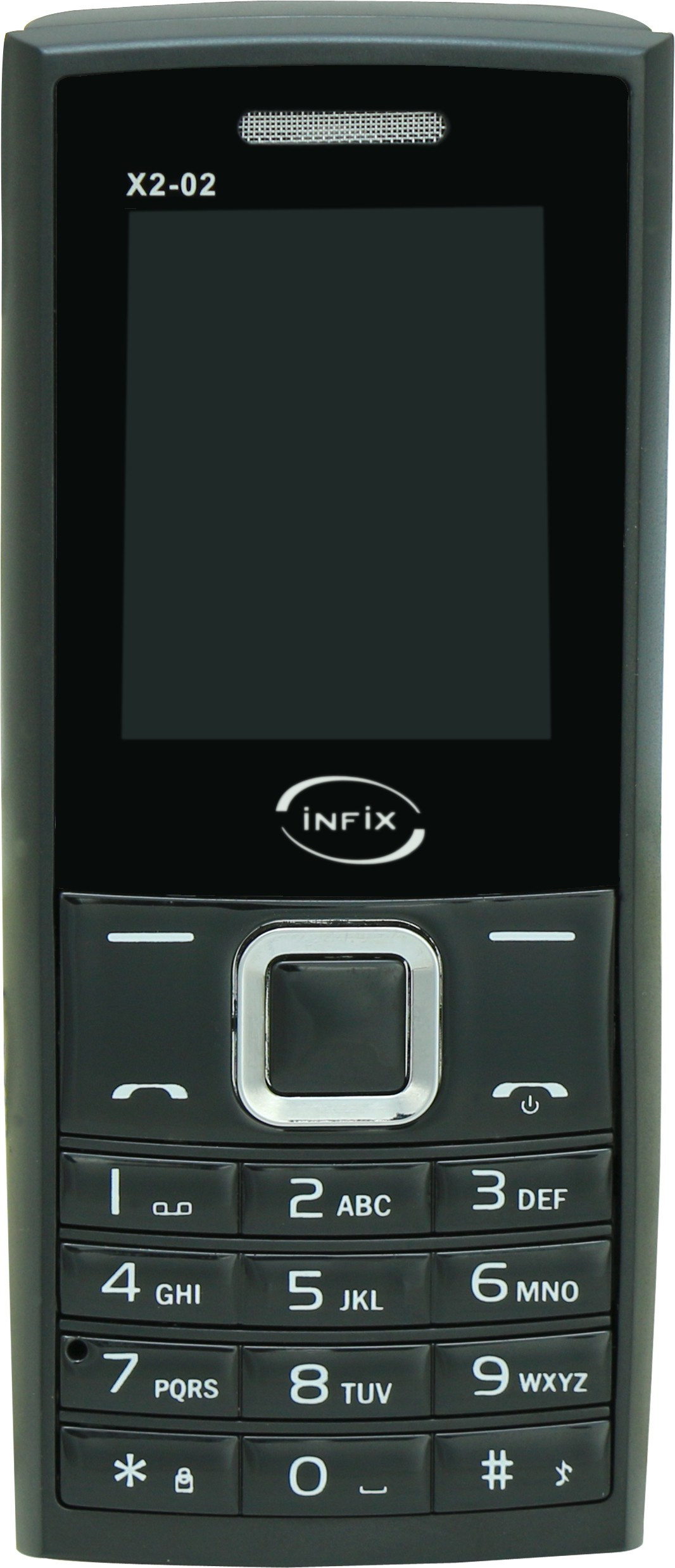 Infix X2-02 Dual Sim(Black, Yellow)