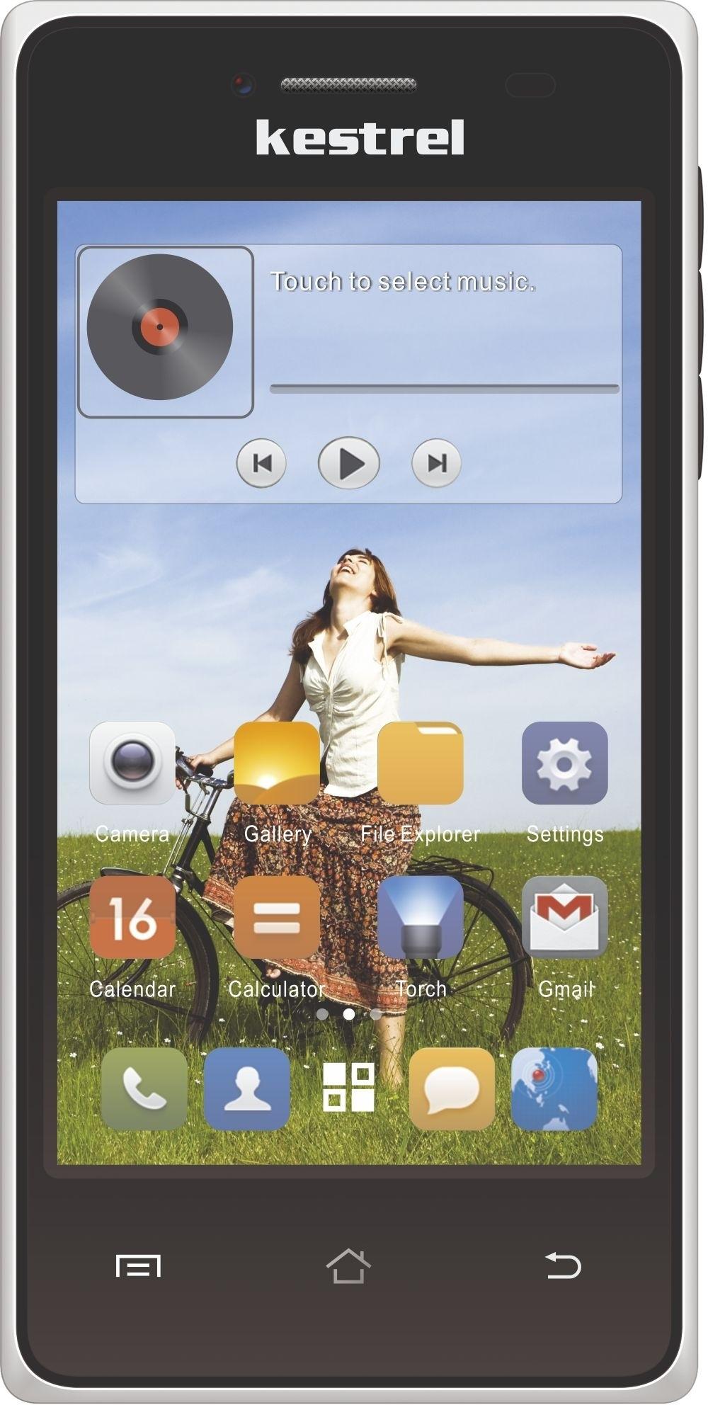 Kestrel KM 401 (White, 4 GB)(512 MB RAM)