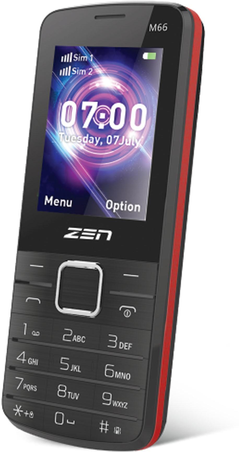 Zen M66(Black, Red)
