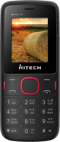 Hitech Micra 115(Black, Red)