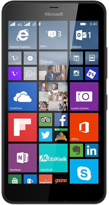 Microsoft Lumia 640 XL (1GB RAM, 8GB)