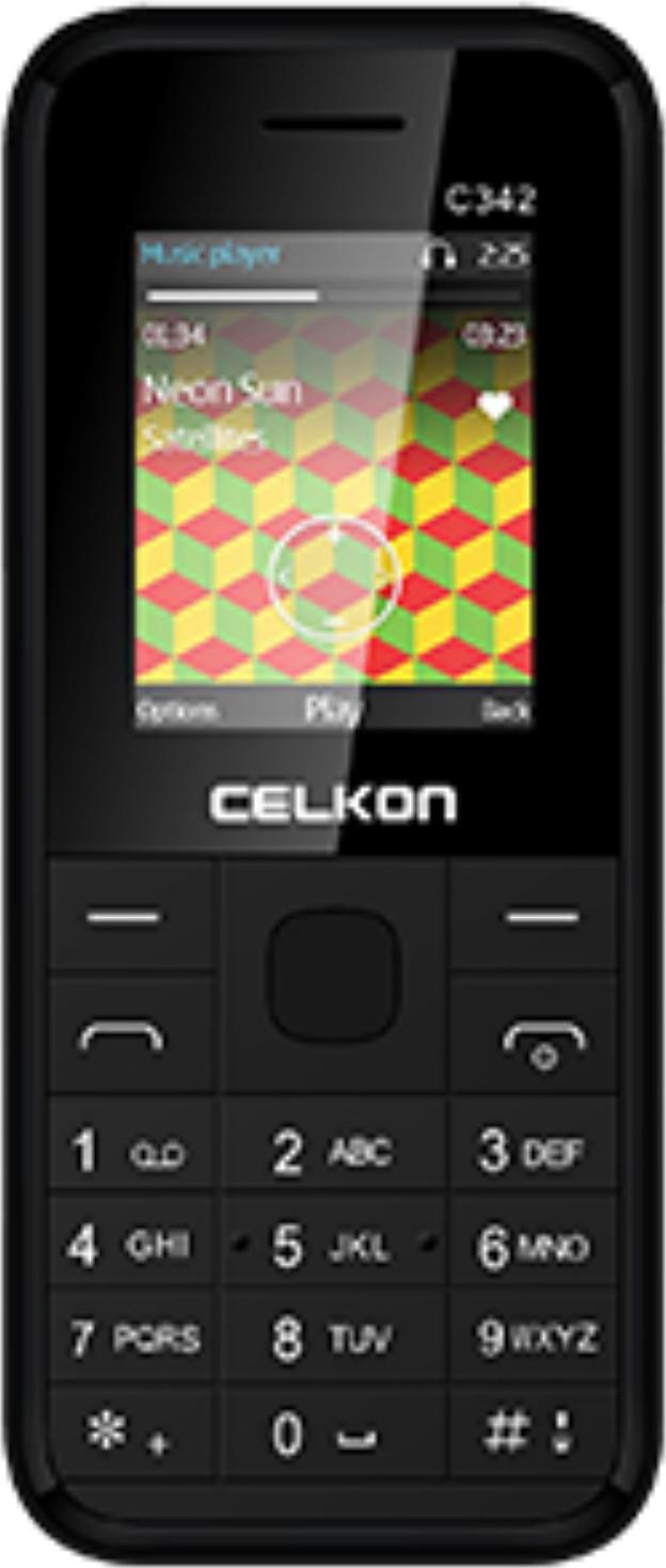 Celkon C342(Black)
