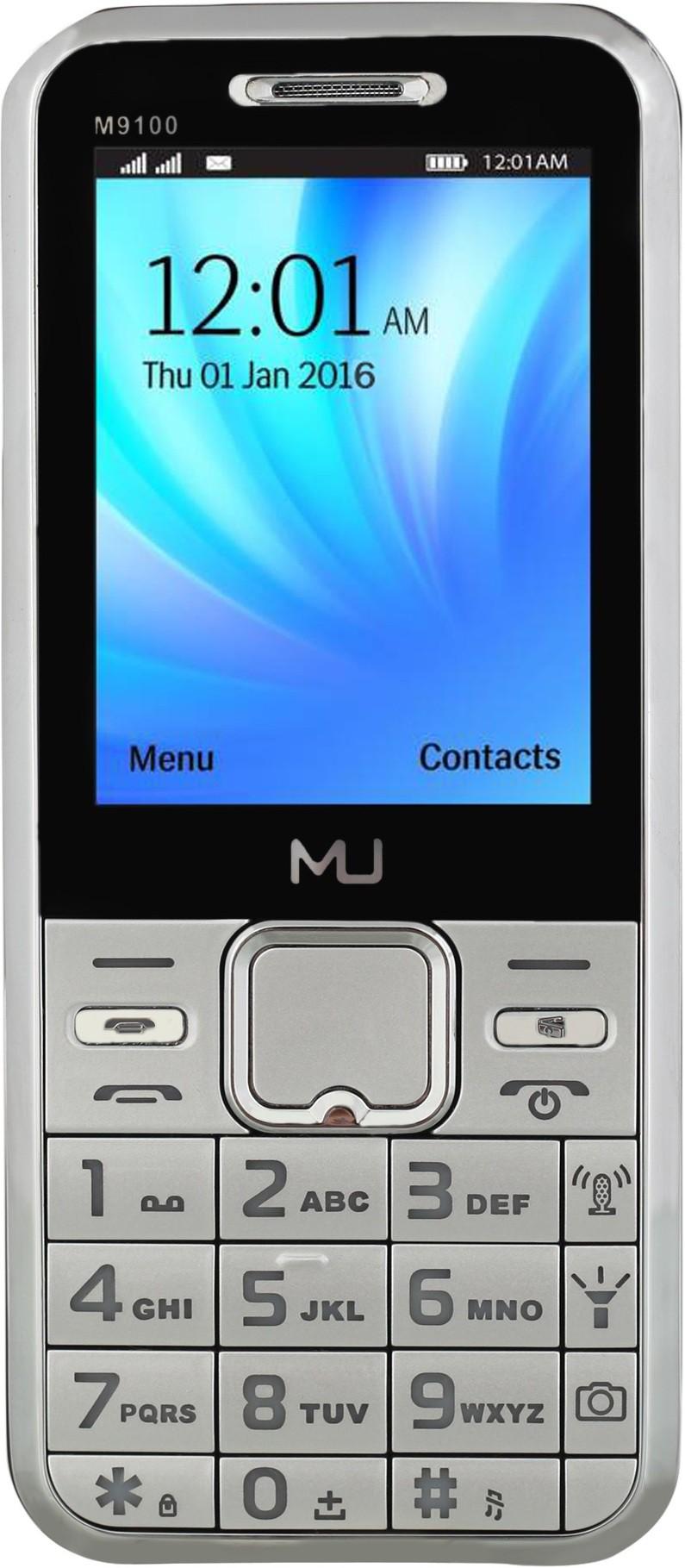 MU M-9100(Black & Silver)