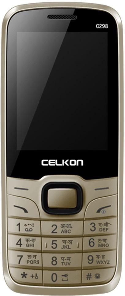 Celkon C298(Black & Gold)