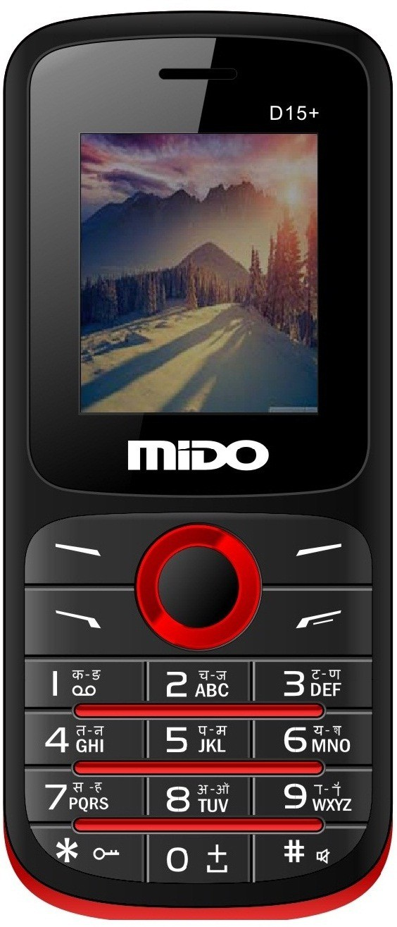 Mido D15+(Black & Red)