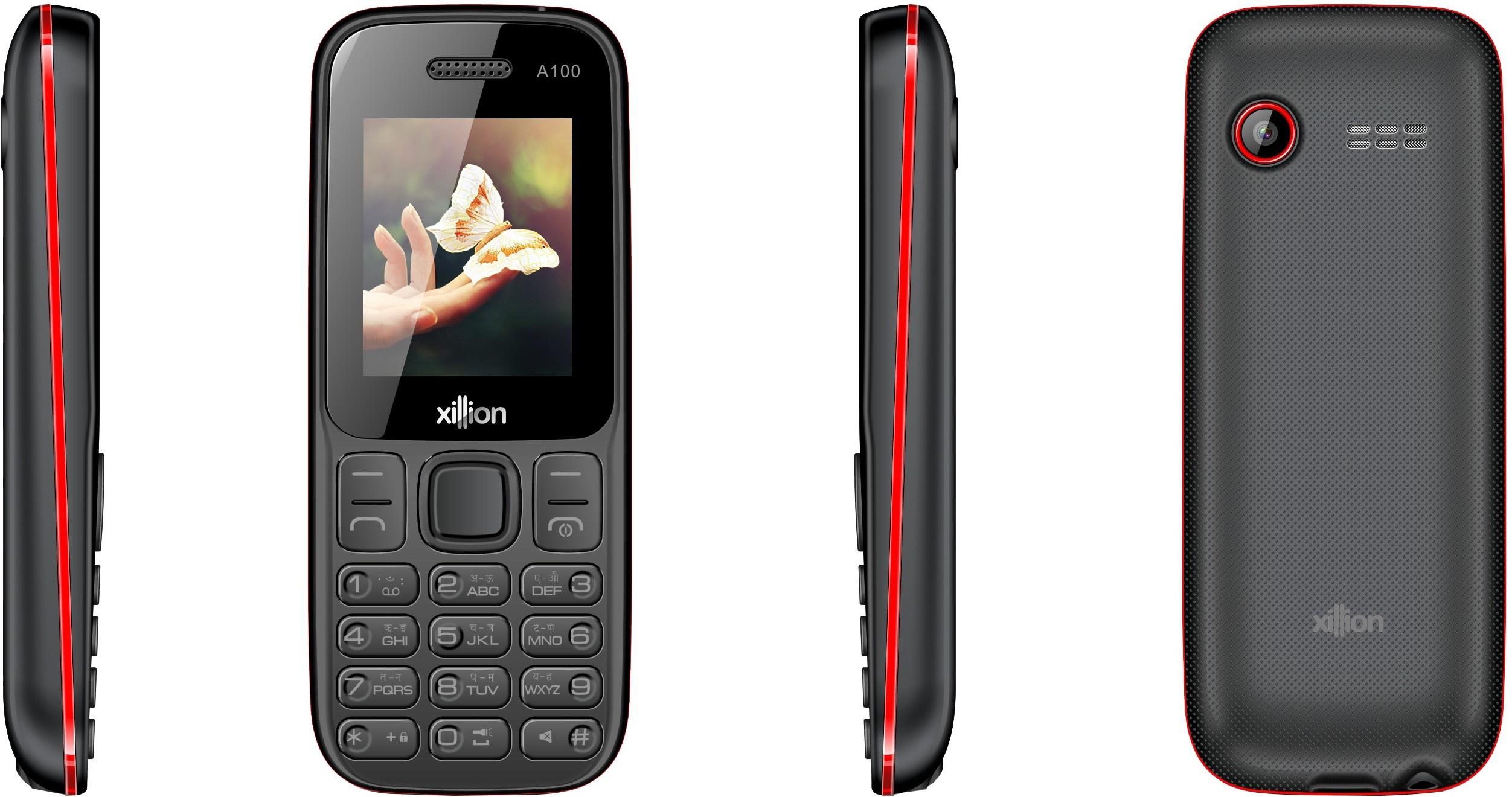 Xillion A100(BLACK+RED)