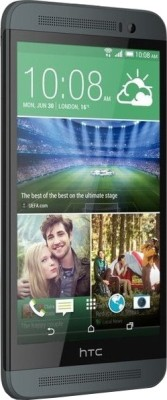 HTC One E8 Dual Sim (Dark Grey, 16 GB)(2 GB RAM) at flipkart