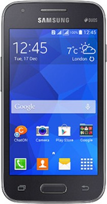 Samsung Galaxy S Duos 3  Charcoal Grey, 4   GB  512 MB RAM  available at Flipkart for Rs.6500