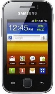 SAMSUNG Galaxy Y CDMA (Black, 140 MB)