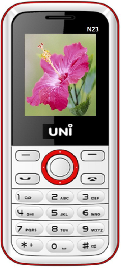 UNI N23(White & Red)