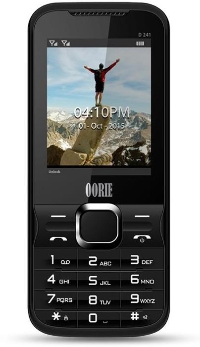 Oorie D241 Wireless FM(Black)